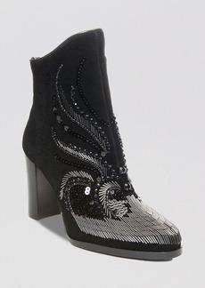 Donald J Pliner Booties - Quiva Embellished High Heel