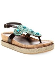 Donald J Pliner Cami Platform Thong Sandals Women's Shoes