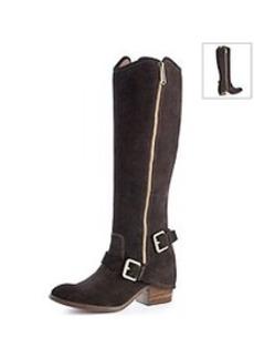 """Donald J Pliner® """"Dela"""" Dual Zipper Boots"""