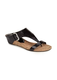 Donald J Pliner 'Doli' Wedge Thong Sandal (Women)