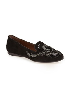 Donald J Pliner 'Dolin - 25th Anniversary Collection' Beaded Smoking Slipper Flat (Women)
