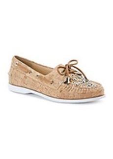 """Donald J Pliner® """"Ibiza"""" Boat Shoes - Natural"""