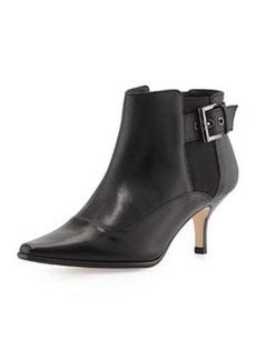 Donald J Pliner Leather Ankle Boot, Black