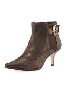 Donald J Pliner Leather Ankle Boot, Bronze