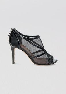 Donald J Pliner Peep Toe Booties - Alisha High Heel