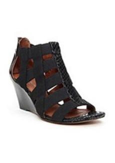"Donald J Pliner® ""Pira"" Wedge Sandals - Black"