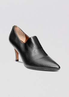 Donald J Pliner Pointed Toe Ankle Booties - Tanna Stretch High Heel