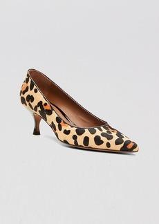 Donald J Pliner Pointed Toe Pumps - Rome Kitten Heel