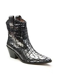 "Donald J Pliner® ""Sesi"" Mid-Heel Boots - Pewter"