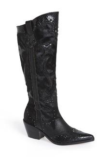 Donald J Pliner 'South' Genuine Calf Hair Tall Boot (Women)