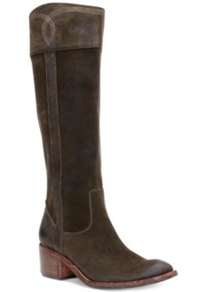Donald J Pliner Willi Tall Shaft Western Boots Women's Shoes
