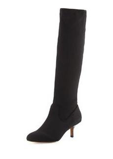 Donald J Pliner Yazi Fabric Boot, Black