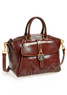 Dooney & Bourke 'Campbell' Croc Embossed Leather Tote