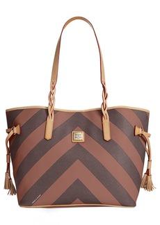 Dooney & Bourke Chevron Bailey Bag