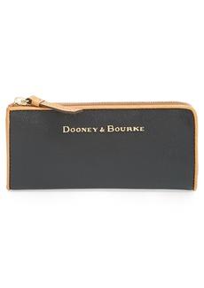Dooney & Bourke 'Claremont' Leather Zip Around Wallet