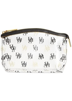 Dooney & Bourke Clear DB Small Cosmetic Case