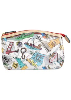 Dooney & Bourke Clear Domed Cosmetic Case