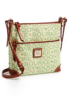 Dooney & Bourke Logo Jacquard Crossbody Bag