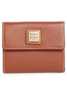 Dooney & Bourke Pebbled Leather Credit Card Wallet