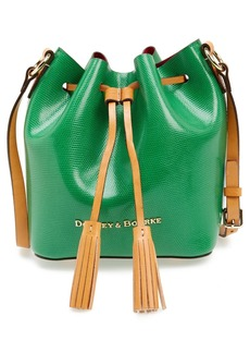 Dooney & Bourke 'Serena' Embossed Leather Crossbody Bag