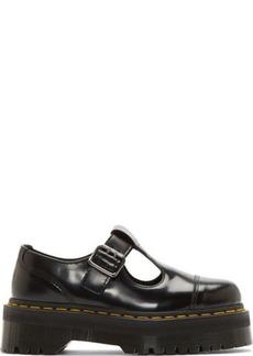 Dr. Martens Black Platform Bethan T-Strap Shoes