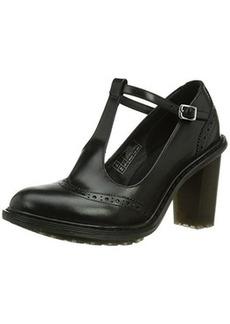 Dr. Martens Women's Karishma Brogue T Bar Shoe