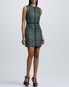 M Missoni Textured Zip Dress