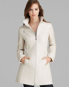 Laundry by Shelli Segal Coat - Packable Mini Quilted