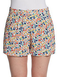 French Connection Marilyn Floral-Print Shorts