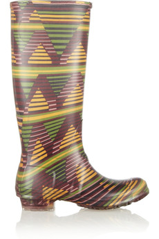 M Missoni Printed rubber Wellington boots