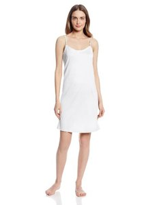 Hanro Women's Cotton Deluxe Chemise