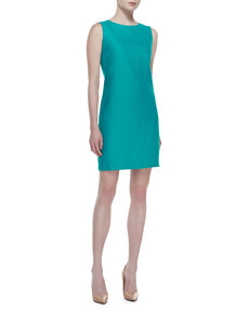 Lafayette 148 New York Diarra Linen Shift Dress