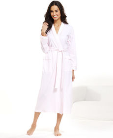 Charter Club Collection Long Knit Kimono Robe
