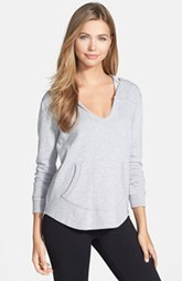 Marc New York by Andrew Marc Split Neck French Terry Hoodie