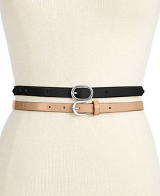Steve Madden 2 for 1 Painted Studs Belt