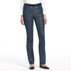 The Straight Leg Jean in Sparkle (Plus)