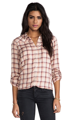 Soft Joie Brady Blouse in Pink