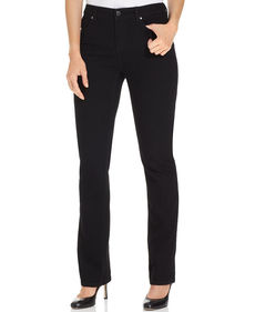 Charter Club Straight-Leg Jeans, Black Wash