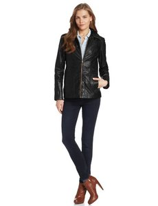 Marc New York by Andrew Marc Women's Reese Leather Jacket