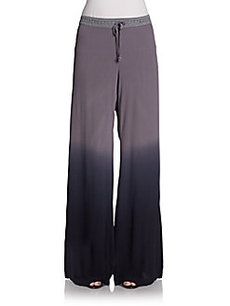 Saks Fifth Avenue BLUE Windy Wide-Leg Pants