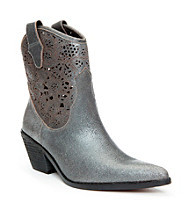 "Donald J Pliner® ""Seline"" Casual Boots with Floral Detail"
