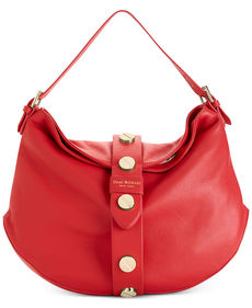 Isaac Mizrahi Pebbled Leather Olivia Hobo