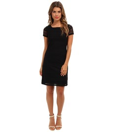 Marc New York by Andrew Marc Boatneck Shift Dress MD4L6341