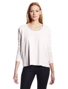 Calvin Klein Jeans Women's Long Sleeve One Pocket Tee