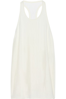 3.1 Phillip Lim Asymmetric pleated chiffon top