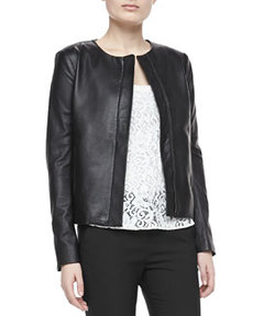 Raoul Crossover Leather Jacket   Raoul Crossover Leather Jacket