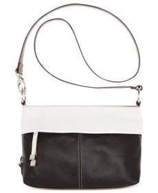 Tignanello Item East West Leather Convertible Crossbody Bag