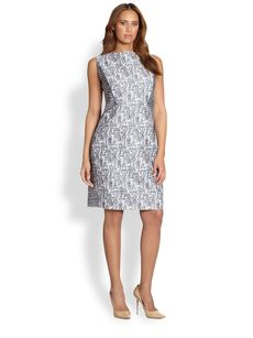 Lafayette 148 New York, Sizes 14-24 Deana Shift Dress