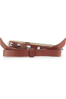 M Missoni Embellished leather belt