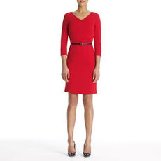 The Scarlett Dress in Ponte